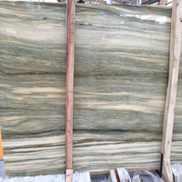 New Arrival 2016 French Yellow Wood Grain Marble Slab