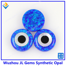 synthetic evil eye Round Opal Beads for DIY Opal jewelry
