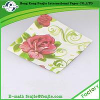 pocket tissue handkerchief,printing paper napkin