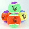 promotional coloured tennis balls with logo printed