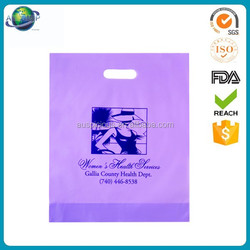 Hot sale latest gifts shop plastic carrier bags