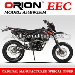 China Apollo ORION EEC 250cc Enduro On Road Motorcycle A36BW250M