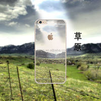 Grassland 3D Sublimation Back TPU Phone Cases Cover for iPhone 6