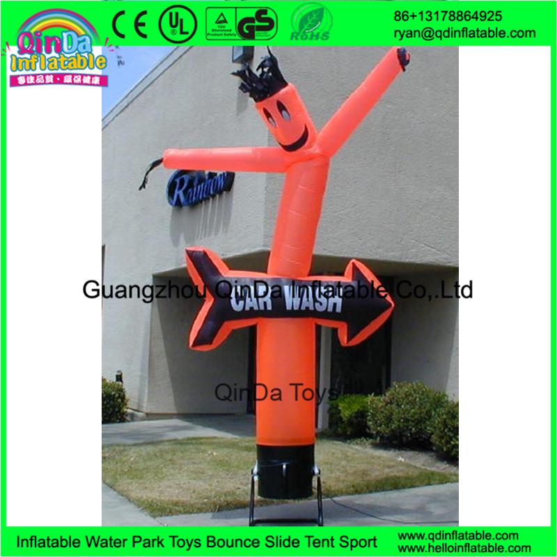 Publicidad inflable Al Aire Libre Lavado de Coches Payaso Bailarín Inflable Del Aire Bailarín