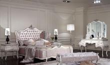 Elegant luxurious king size royal furniture italian bedroom sets