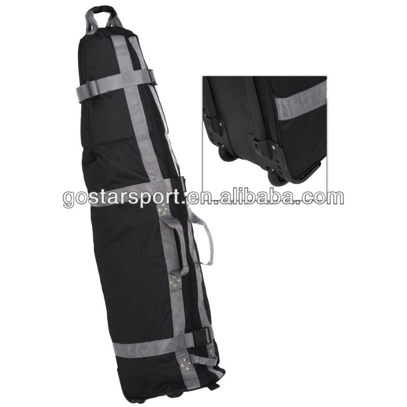 Hot Sale Used in Airplane Luxury Nylon Golf Travel Bag Cover
