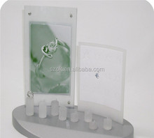 fashional frosted acrylic jewelry display sets for rings