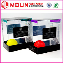 Soft Crease Packaging Clear Box for leather girdle