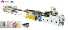 WPC/PVC co-extrusion FOAM plastic sheet production machinery
