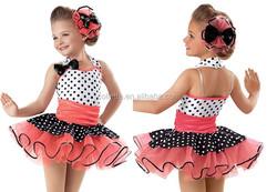 2016 New !! MB2016-4 Girl Cute Cheerful polka dot tutu dance costume dress