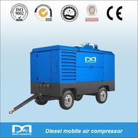 7bar 10m3/min portable diesel engine driven air compressors