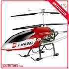 """53"""" extra grande gt qs8006 2 velocidade 3.5 ch rc giroscópio builtin azul/vermelho, qs8006 helicóptero do rc"""