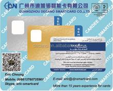 PVC preprinted membership ID card