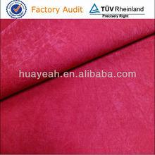 Estilo Simple y colorido en condiciones de servidumbre tela de gamuza
