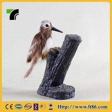Theme park statue kids gift comfortable soft unstuffed bird