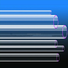 High purity fused uv filter quartz glass tube for uv lighting fron china with low price