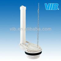 PVC toilet flapper flush valve single flush valve for toilet tank repair