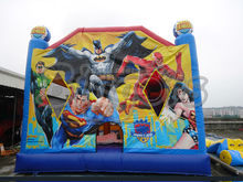 Cartoon Printing Outdoor Kids Inflatable Bouncer Castle Jumping Bounce House