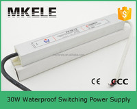 high power wide range 24v 1.25a 30w newest led waterproof switching power supply from China factory FS-30-24