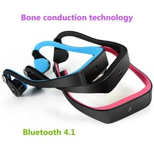 2015 new model waterproof bone conduction headphones