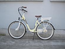 250W front driving motor 36V li-ion battery Electric motorized bike kits
