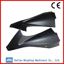 Motorcycle plastic parts supplier plastic front fender wholesale