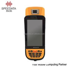 Original Factory KT45 3G/GPRS Handheld UPEK TCS2SS protocol Capacitive finger print reader barcode scanner