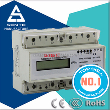 DTS7666 type three phase electronic watt-hour wifi power meter
