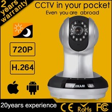 Fujikam 2015 New Product Indoor Home CCTV Onvif Poe Network 20M Night Vision Hd Cctv Ip Camera Webcam With Sim Card