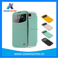 wireless charging case for samsung S4 Qi i9500 Wireless Charger Receiver Leather