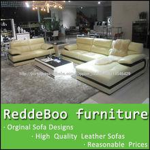 2014 mais novo sofá em forma de L mobiliário de interiores 5526#