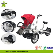 Professional Manufactory Baby Bike Trailer Cargo Tricycle With Best Selling