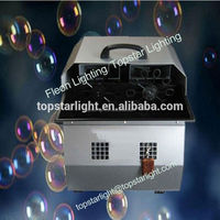 Big Bubble Machine Machine Disco Light DJ Stage Effect Lighting Fog Machine