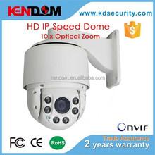Kendom cctv camera 10 X Optical Zoom Waterproof & Vandalproof 720p/1080p HD IP mini speed dome