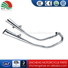 flexible motorcycle exhaust system
