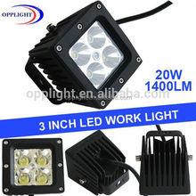 20W LED Work Light Bar Offroad car light 4WD for SUV Truckflood beam