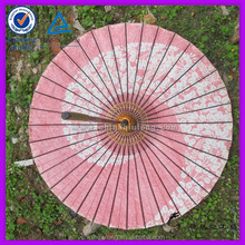 handicrafts made of bamboo white wedding parasol