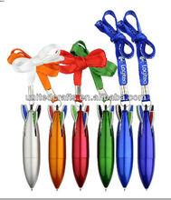 4 in 1 rocket shaped ballpoint pen