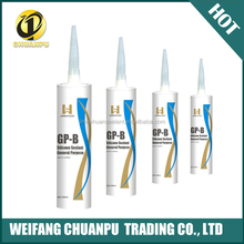 High Grade Acetic white and black color Silicone Sealant