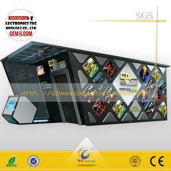 5d cinema simulator equipment,movie simulator 6D 7D 8D 9D 11D kino /cabine car cine
