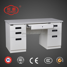 Steel Office Desk with Locking Drawers Metal Furniture Executive Office Table used Computer Desk