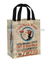 Recyclable PP Woven Drink Carry Bag