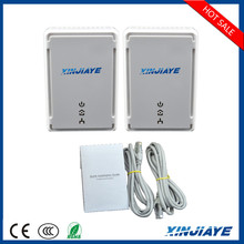 XINJIAYE PLC Plug US/EU 200Mbps Network Bridge Powerline Ethernet Adapter
