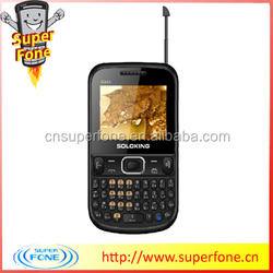 2.2 inch newest qwerty keyboard support TV mini mobile phones S3332 from china