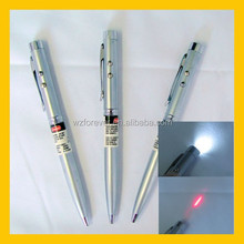 Hot Sale 3 in 1 Copper Red Laser Pointer Torch Pen