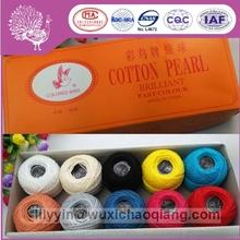 9 s / 2 hilo de algodón bordado hilo hilo crochet pájaro de color 10g