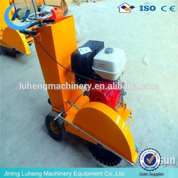 high quality of 10 hp diesel concrete cutter with blade 400mm for sale