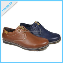 Spanish top design pu men dress shoes