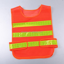 Mesh Reflective Safety Vest With Reflective PVC Tapes