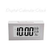 Electric music calendar alarm clock for elder and children kids